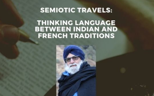 Thinking Language between Indian and French Traditions